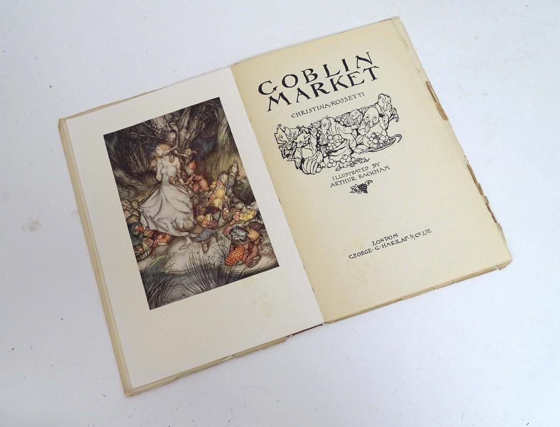 Ephemera: A Pre-Raphaelite poem 'Goblin Market' by - 6