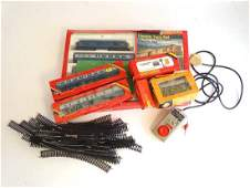A quantity of boxed Hornby Railways train items 00