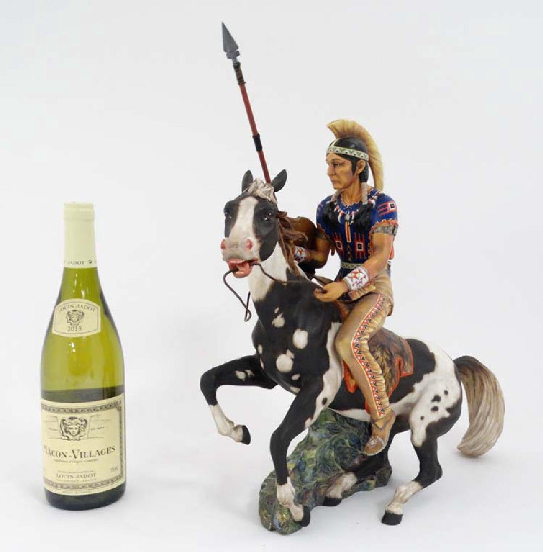A 1967 Limited Edition Royal Doulton figure ''Indian
