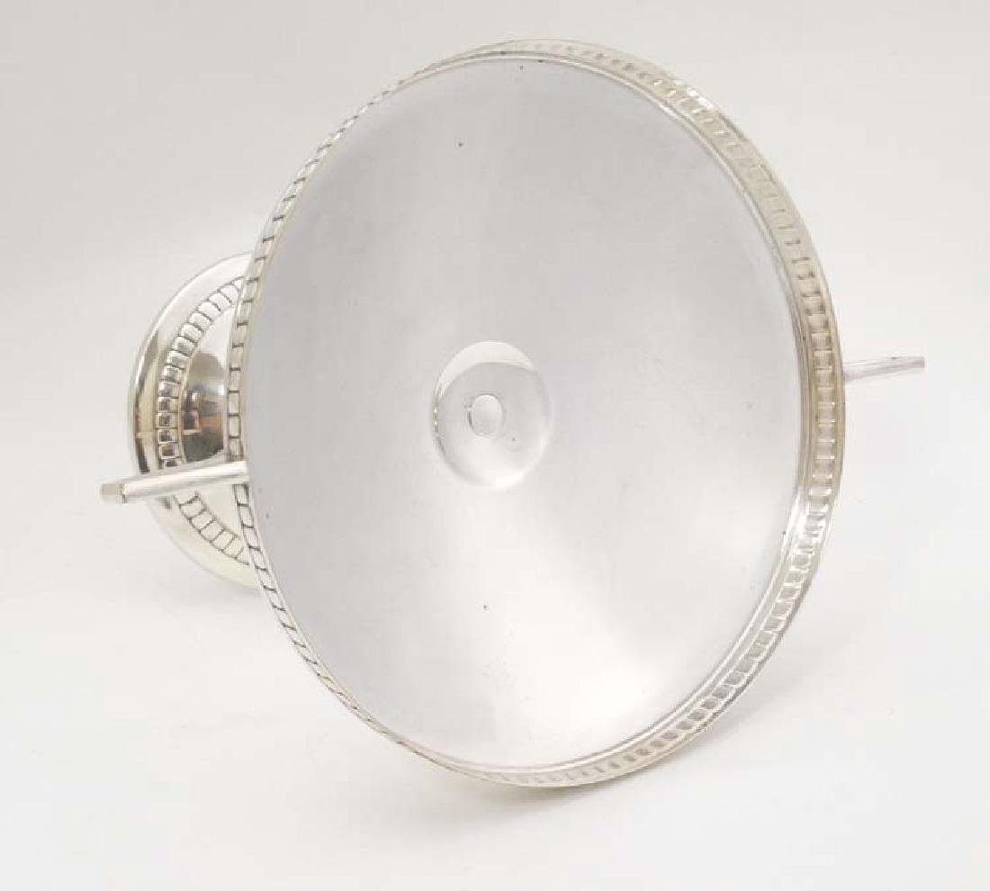 WMF : a large silver plate pedestal tazza  with 2 - 5