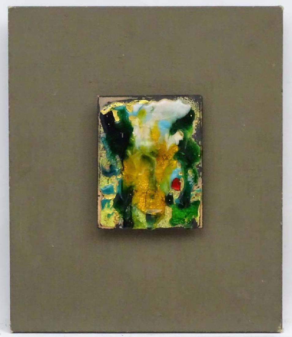 Marit Guinness Aschan (1919-2004), Enamel on copper