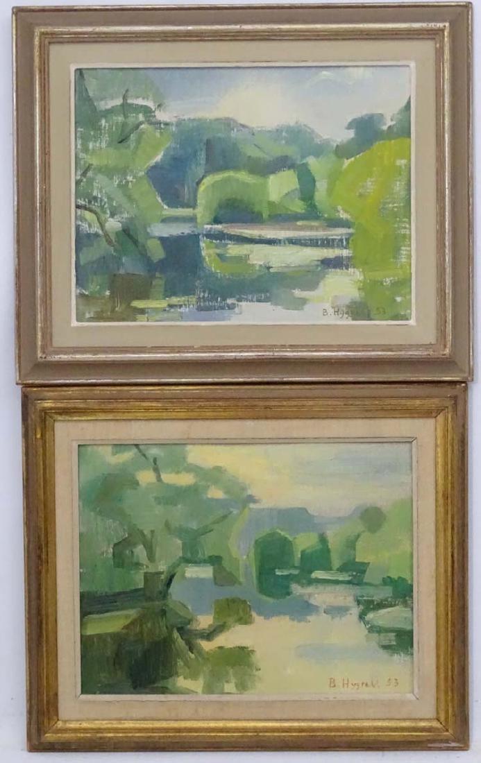 Brigit Hygrell 1953 Impressionist School, Oil on canvas