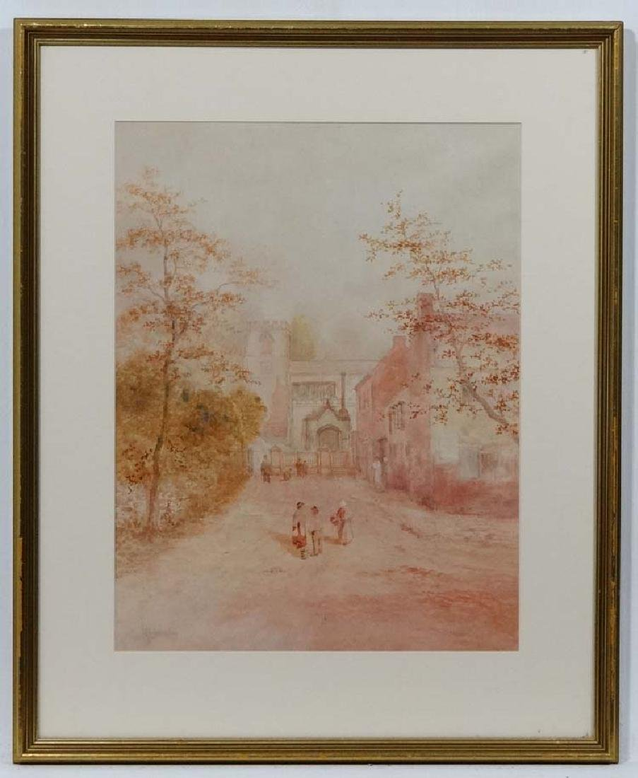 HJ Jockley early XX, Watercolour and pencil, Figures