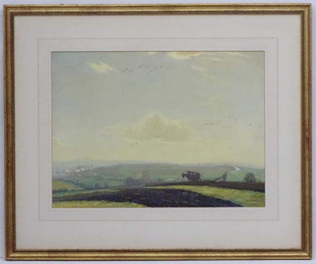 Edwin Glasbey XIX-XX, Watercolour and pastille,