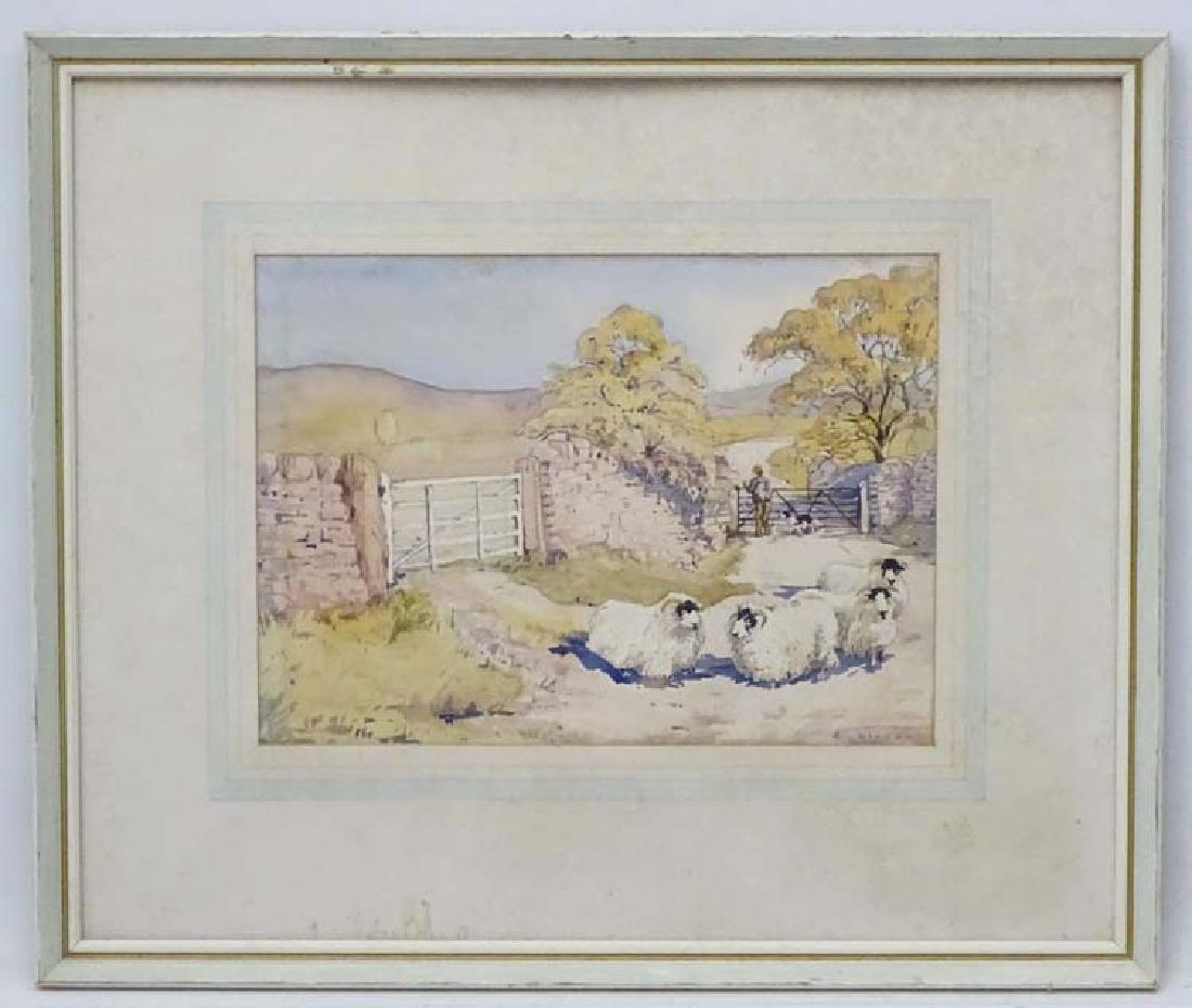 A Wilson 1975, Watercolour, ' Gateway , Holme Fell '