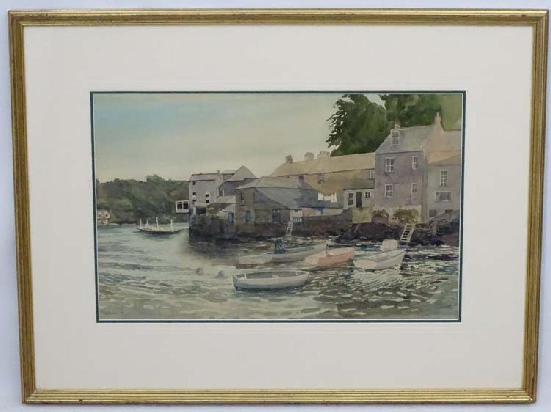 Tom (Beowan) Bowman (19)74,  Watercolour, Cornish?
