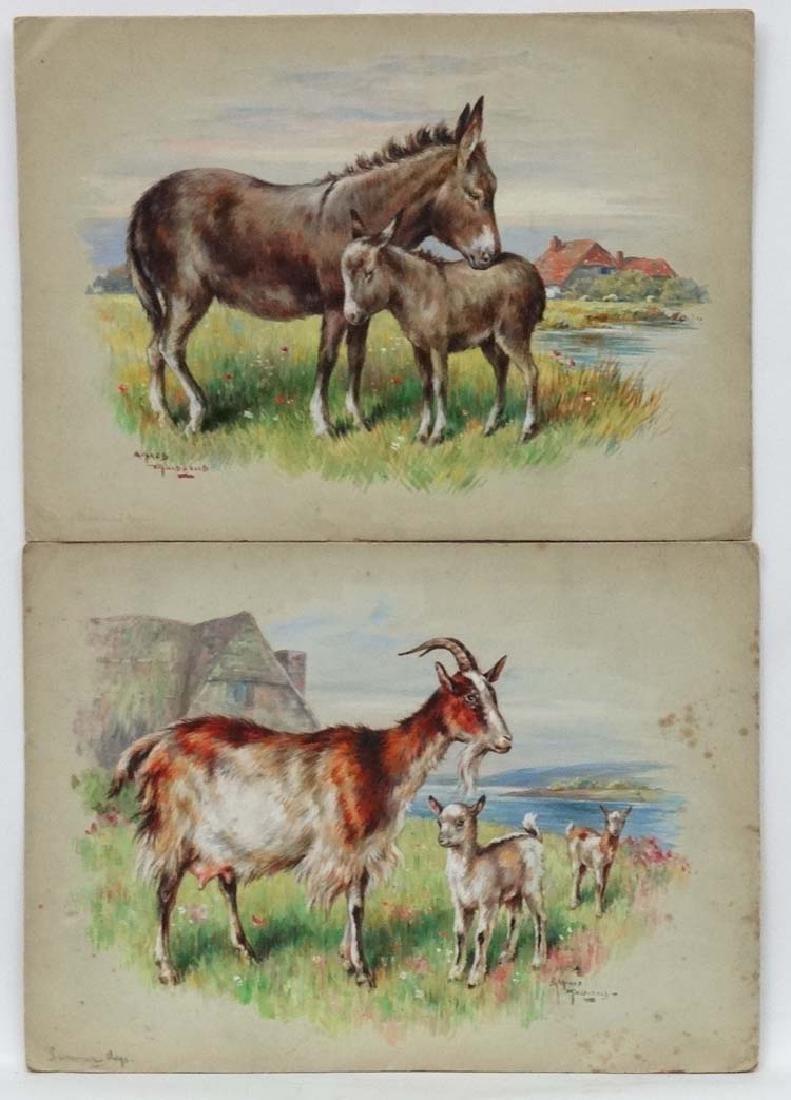 Alfred MacDonald XIX-XX, Watercolour , two, ' Summer
