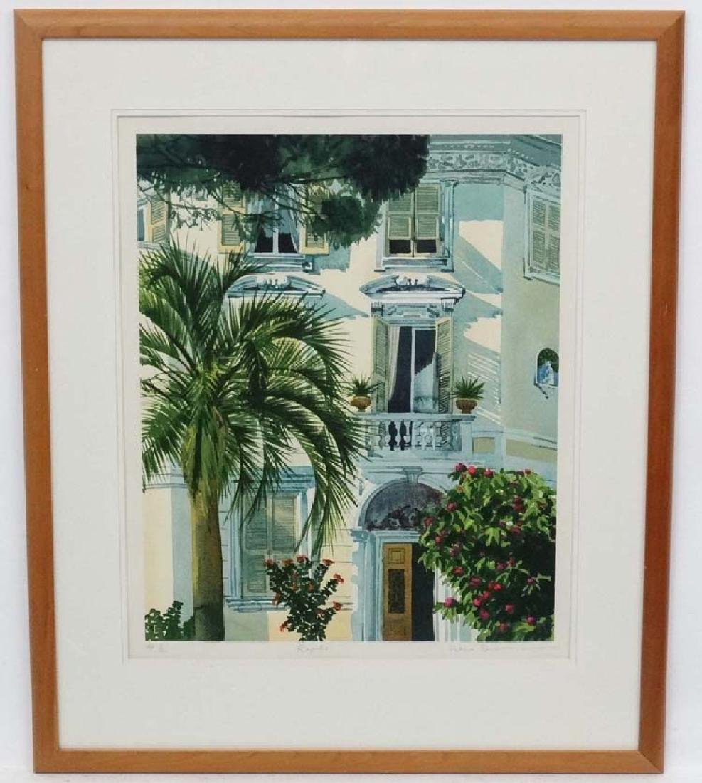 * Ilana Rickman XX, Print, 'Rapallo', Artists Proof