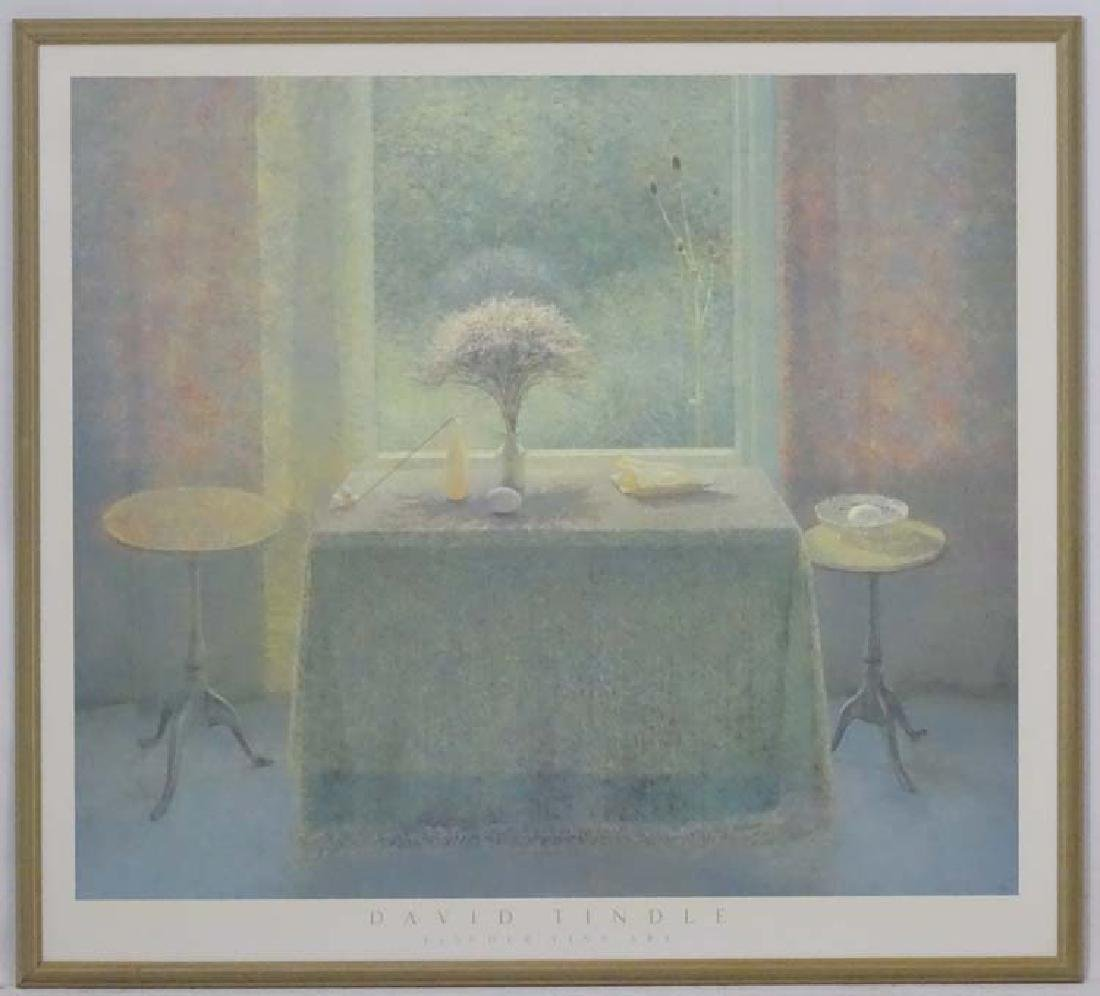 *David Tindle (1932), Coloured print, Fischer Fine Art