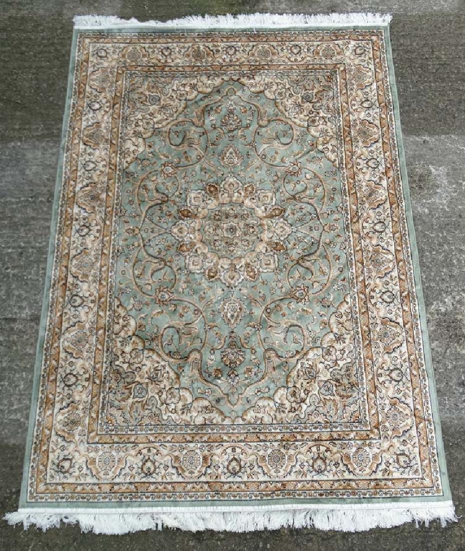 Carpet / Rug : A machine made prayer rug , in the