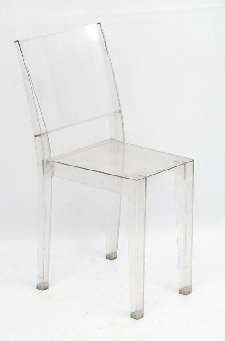 Vintage Retro : a French Kartell Ghost chair as