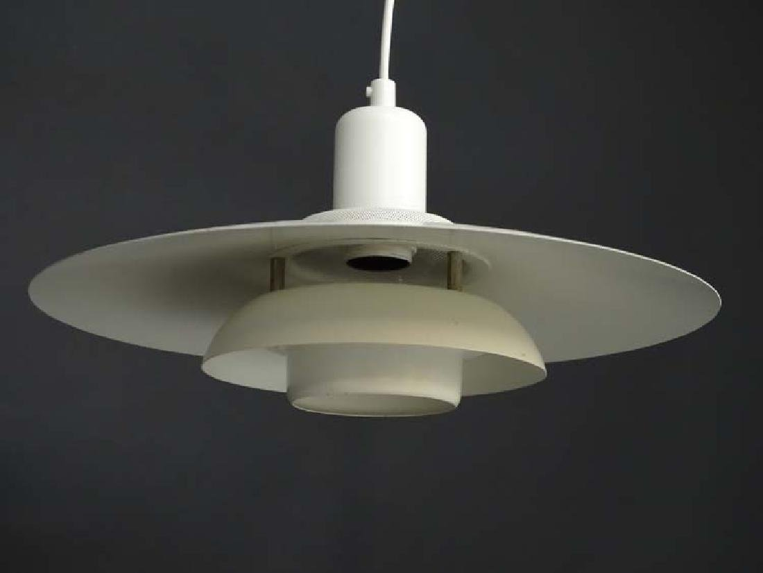 Vintage Retro: A Danish designed Pendant light / Lamp