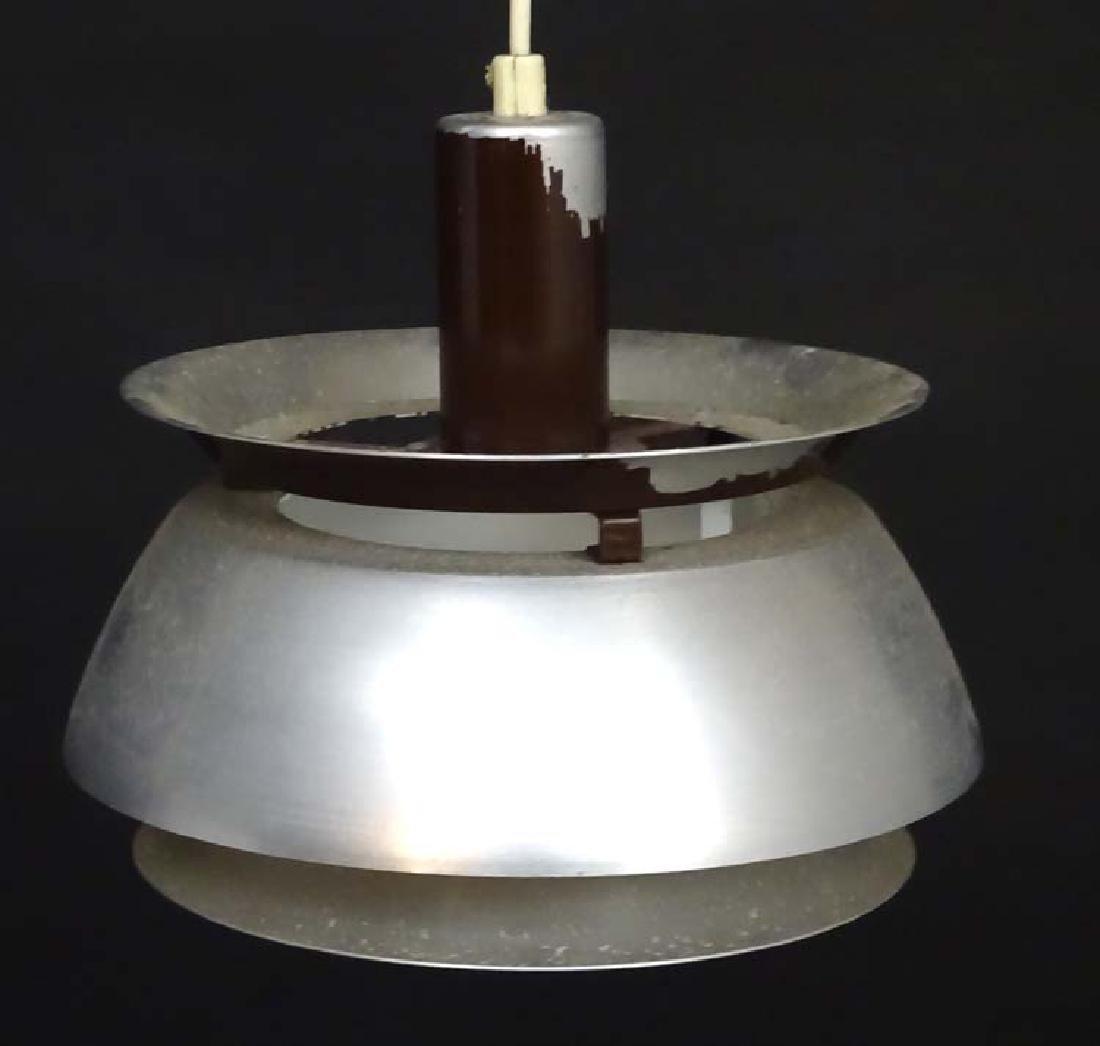 Vintage Retro: A Danish designed pendant light / lamp