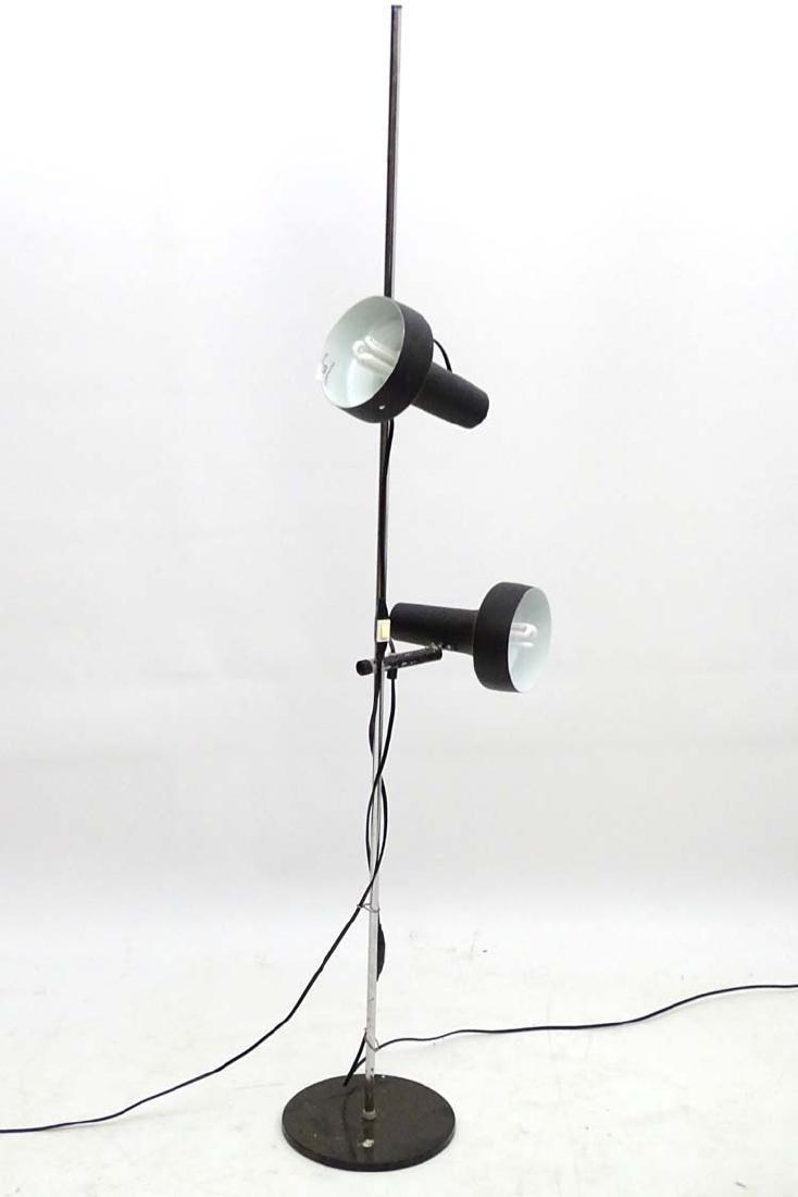 Vintage Retro :A Danish designed  double Standard lamp