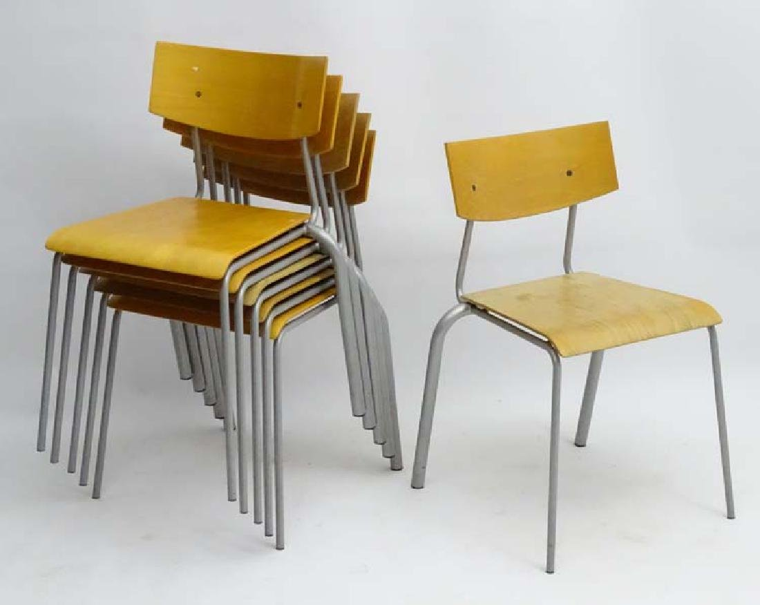 Vintage Retro: a set of Danish blonde wood Stacking