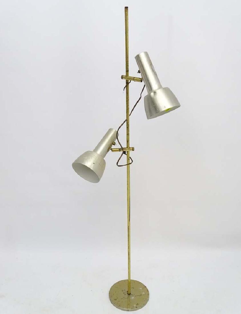 Vintage Retro: A Danish designed brushed aluminium lamp