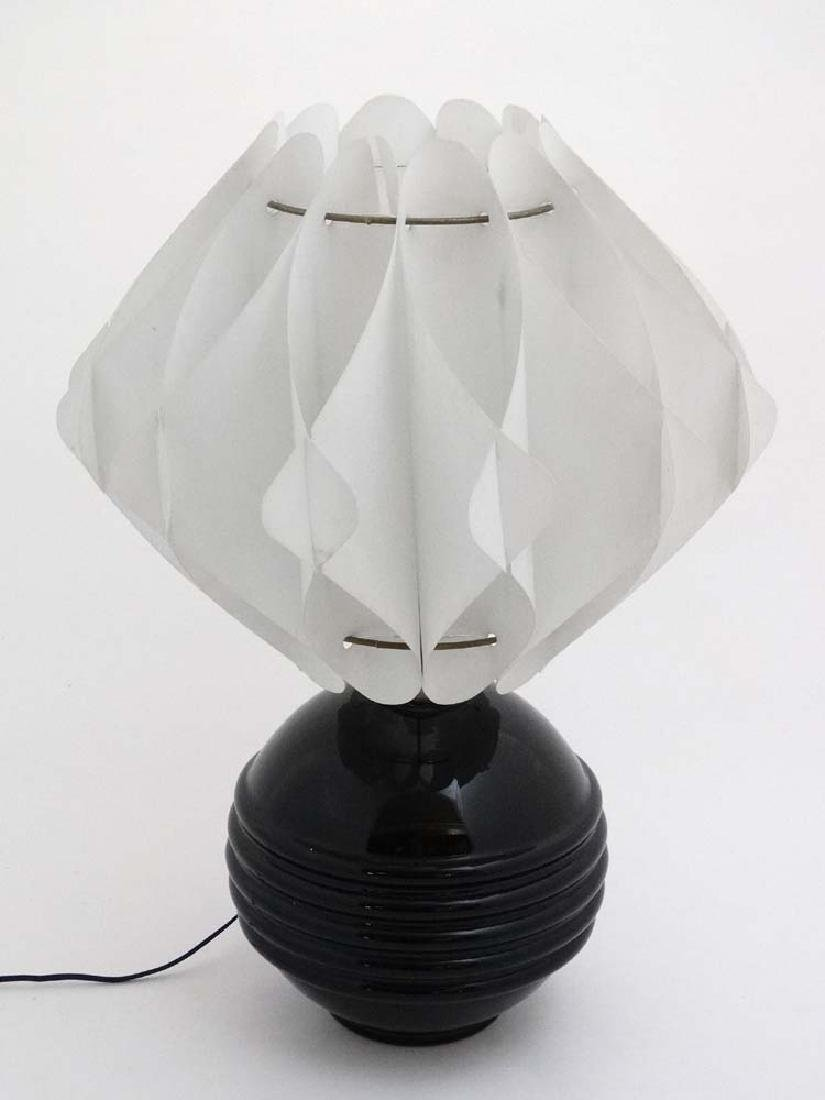 Art Deco :  Table lamp, A late Scandinavian Bent