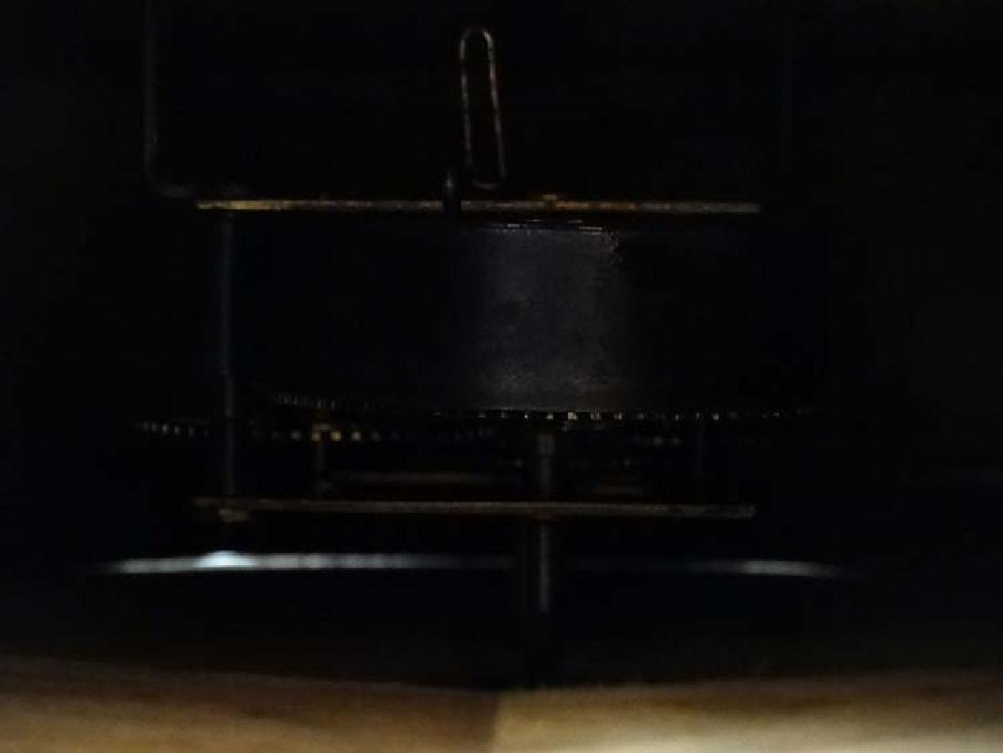 Ansonia wall clock: a mahogany cased 12'' wall - 7