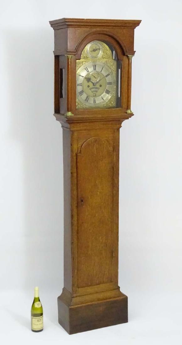 Oak longcase: 'Dav Lockwood, Swaffham ' (1752 according