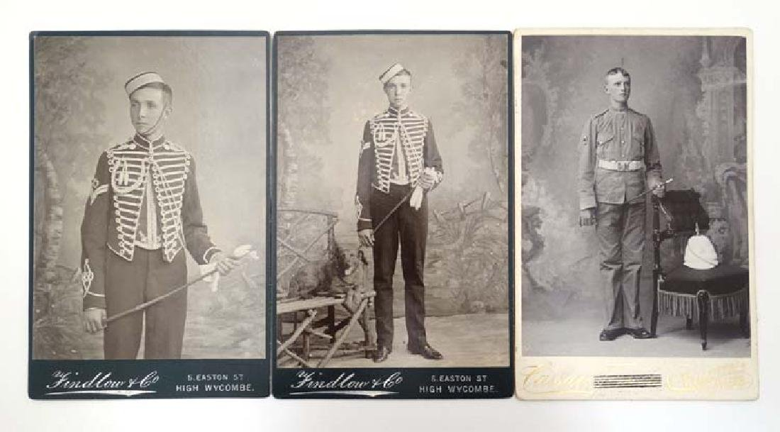 Militaria : A pair of Victorian Photographic Cards