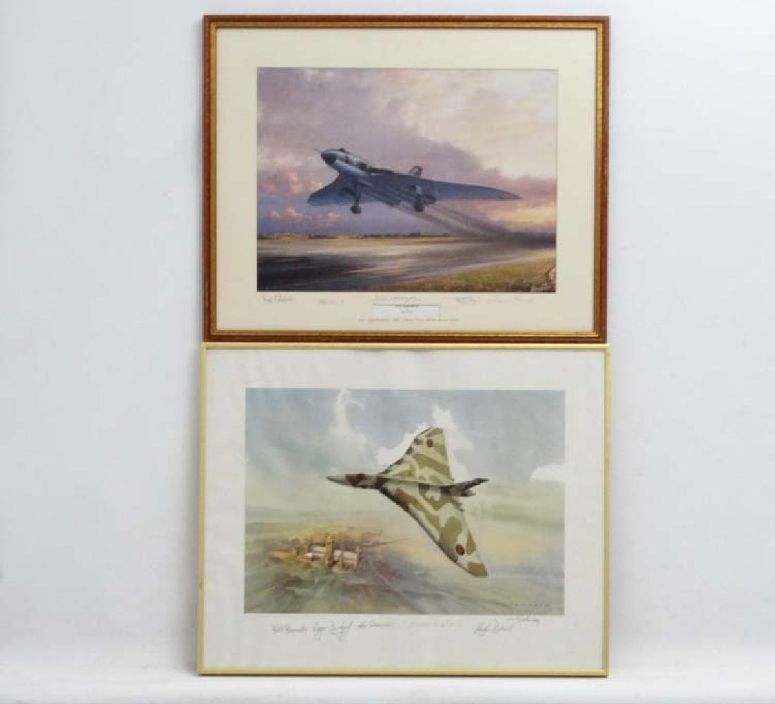 Militaria : After Barry G Price ( XX ) ' RAF Vulcan Mk