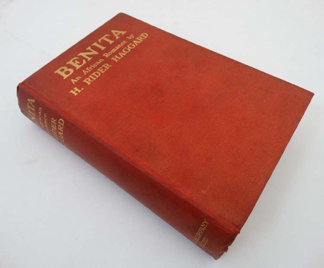 Book: A novel on 'Benita: An African Romance' by H.