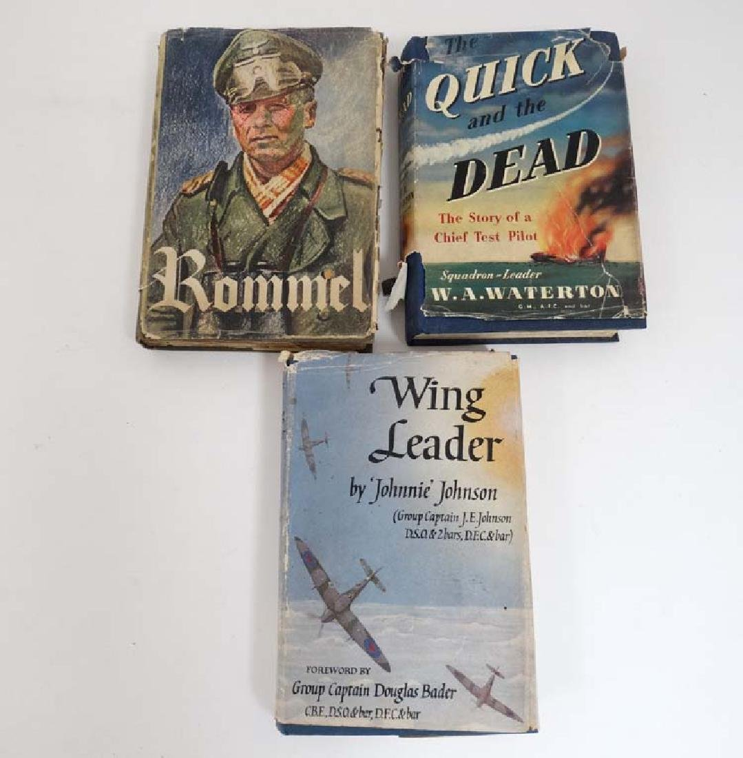 Books: Three hardback books on WW2 subjects to include