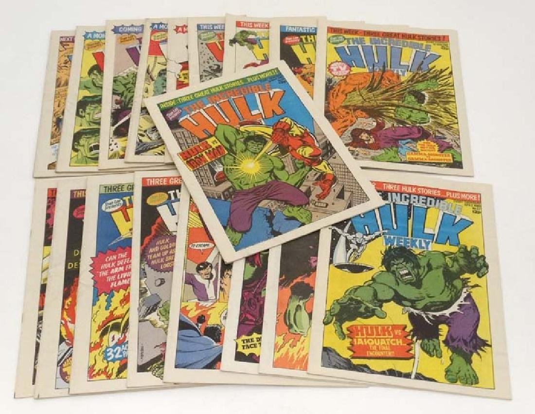 Comic Books: A collection of approx 19 Stan Lee