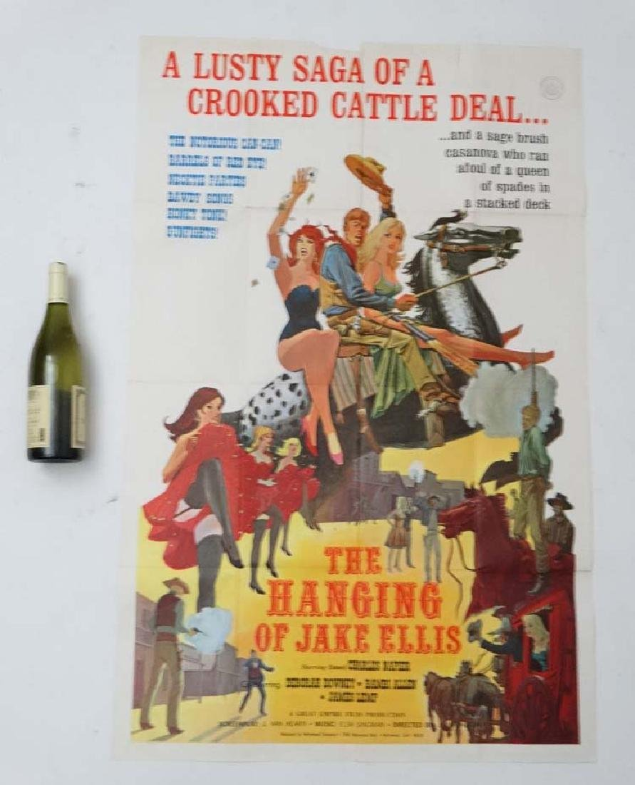 Poster: A poster advertising film 'The Hanging of Jake