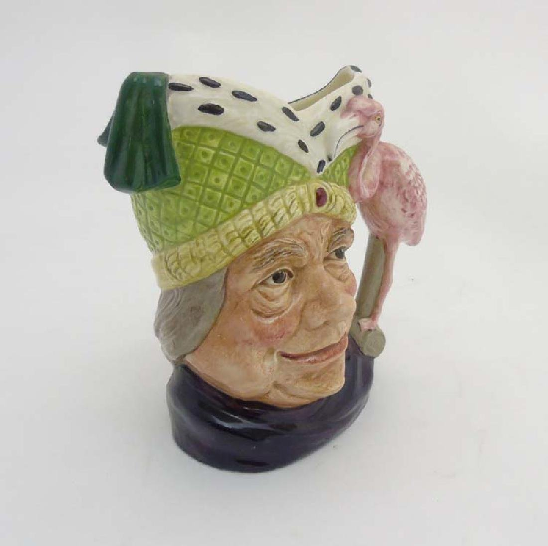 A c1960/70 Royal Doulton Toby Jug 'Ugly Duchess' Alice - 3