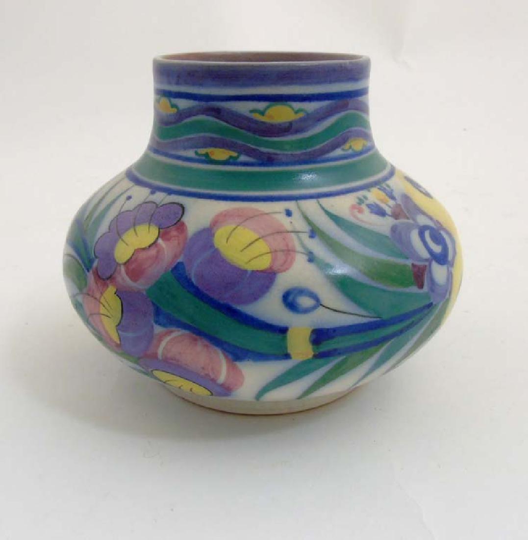 A 20th C Poole Pottery Carter Stabler Adams Ltd. shape