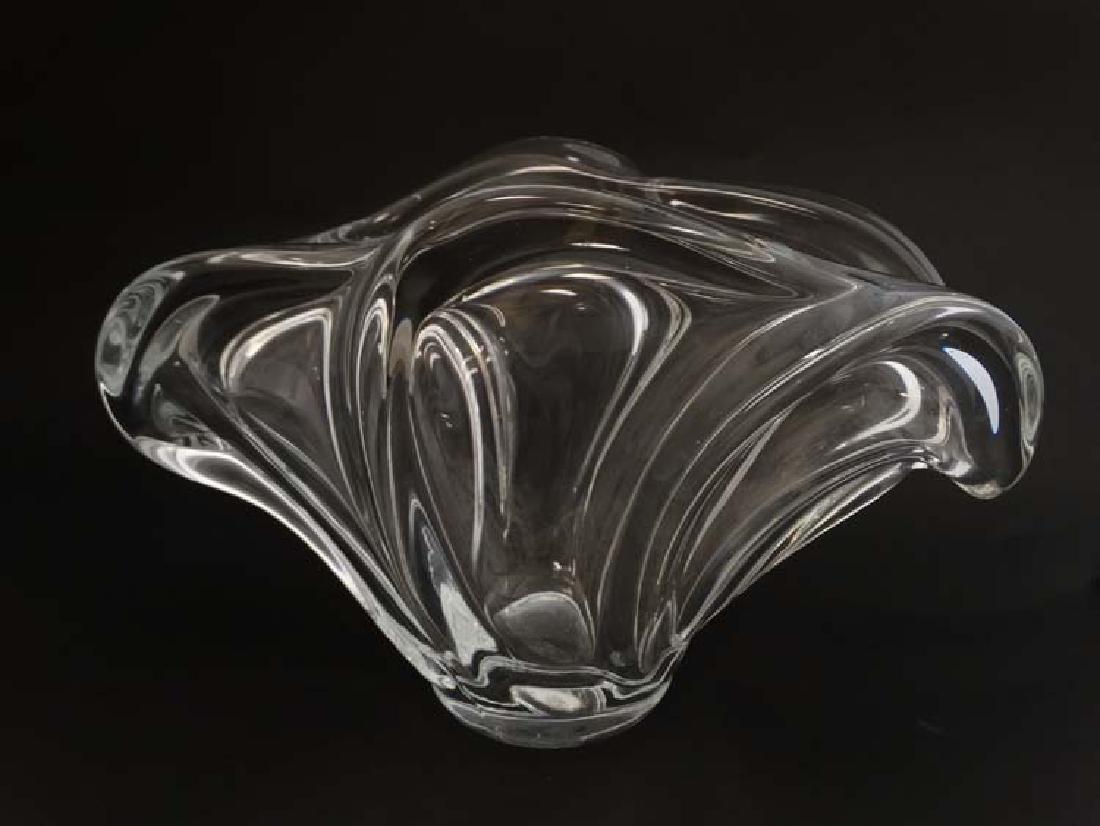 A Cristalleries de Vannes-Le-Chatel, France 'Wave'