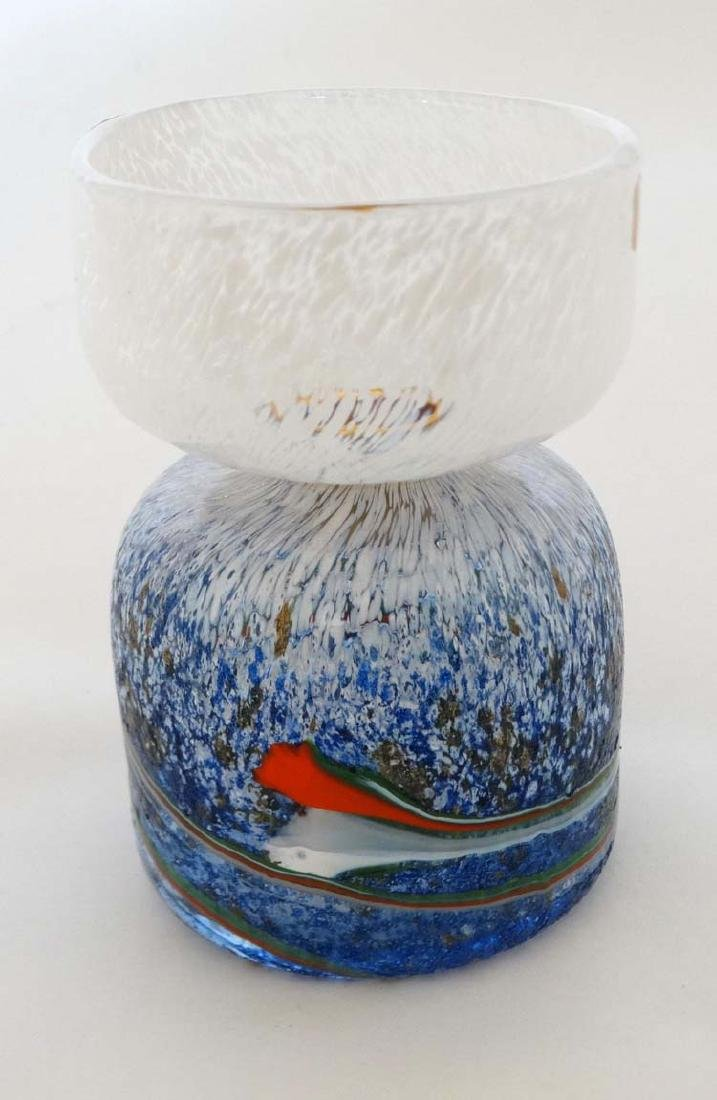 Retro Scandinavian Studio Art Glass : A glass