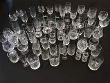 Assorted Glasses    a large quantity of assorted