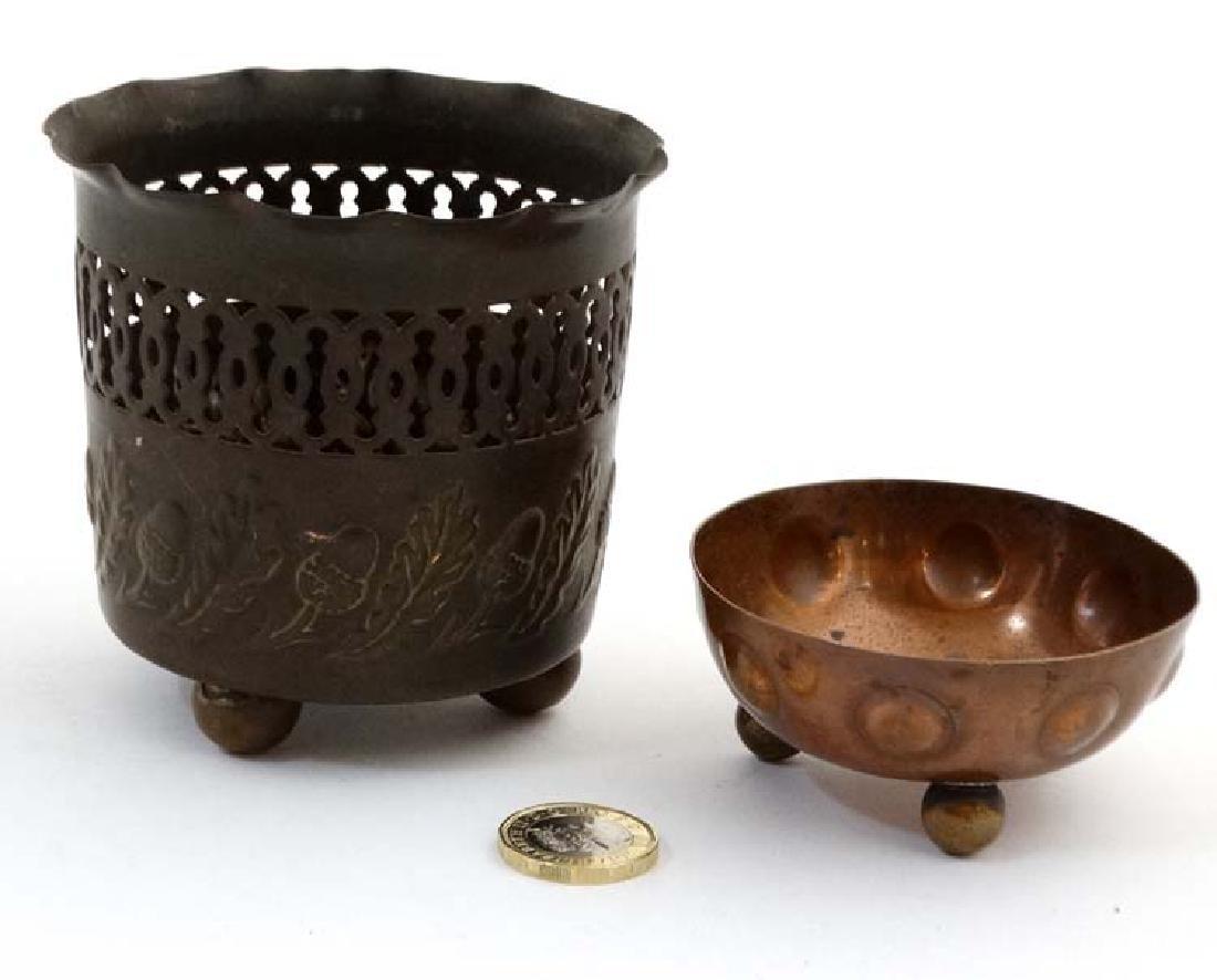 Decorative Metalware : A Joseph Sankey & Son pierced