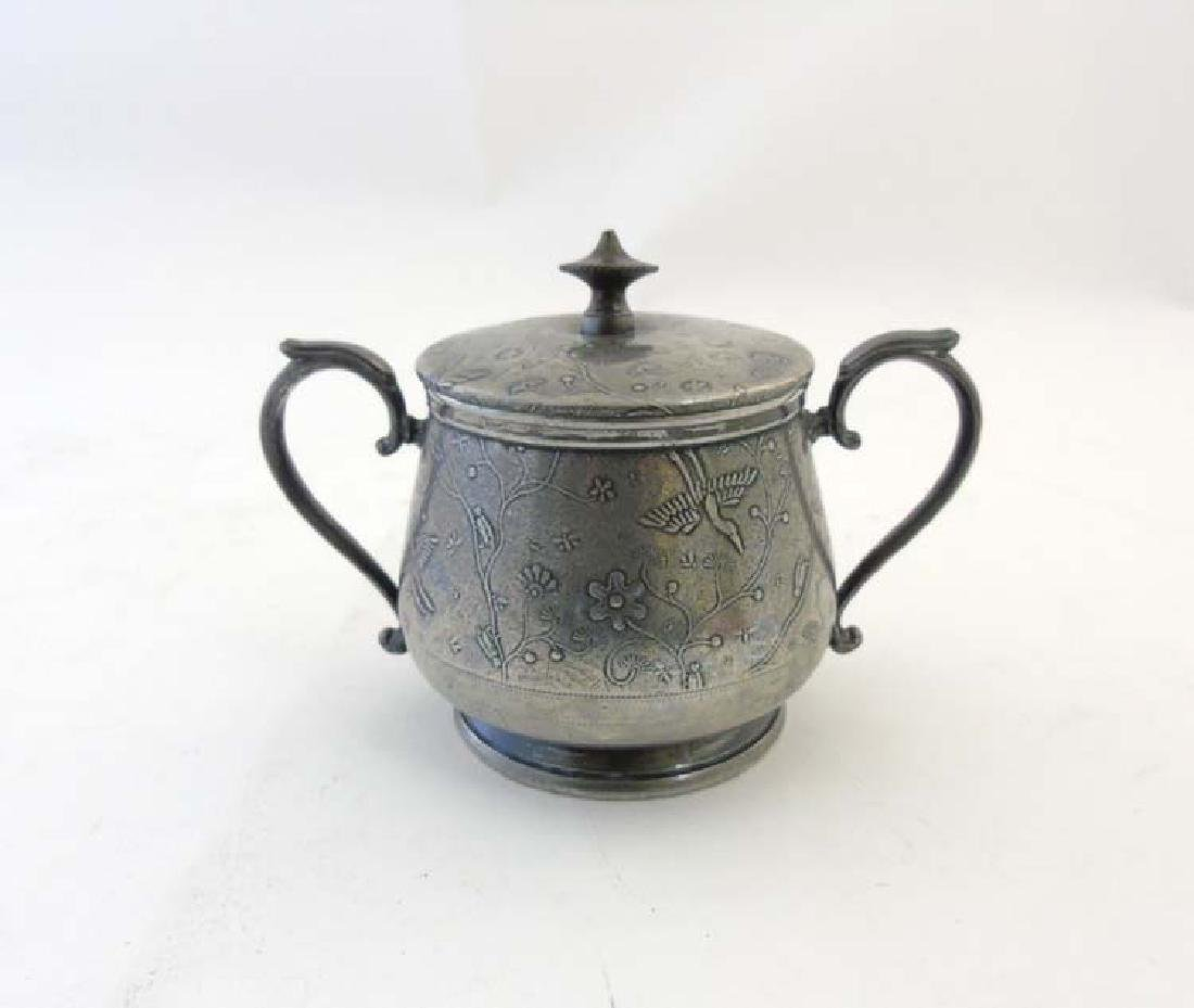 Arts and Crafts - Gerhardt & Co. no. 500B: A pewter two