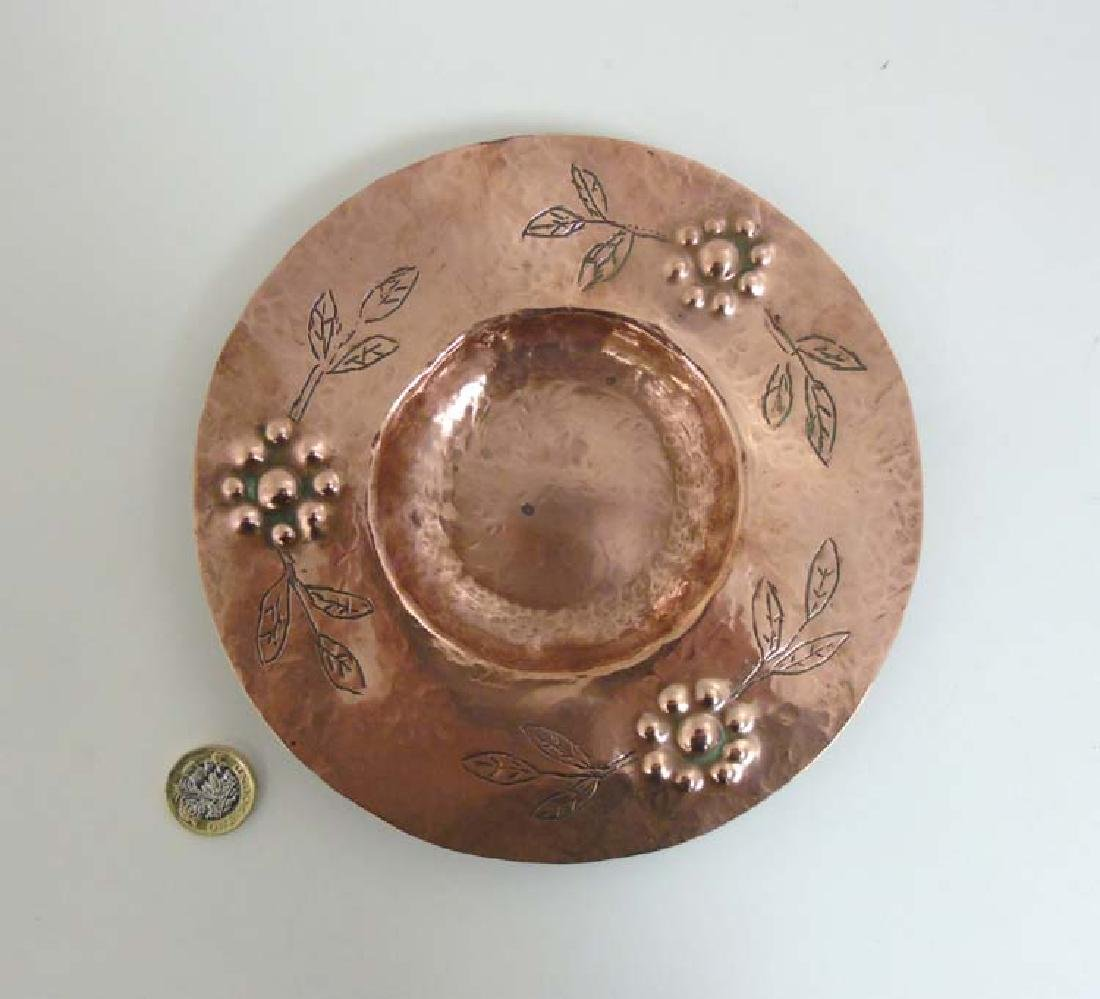 Decorative Metalware : An Arts and Crafts plannished