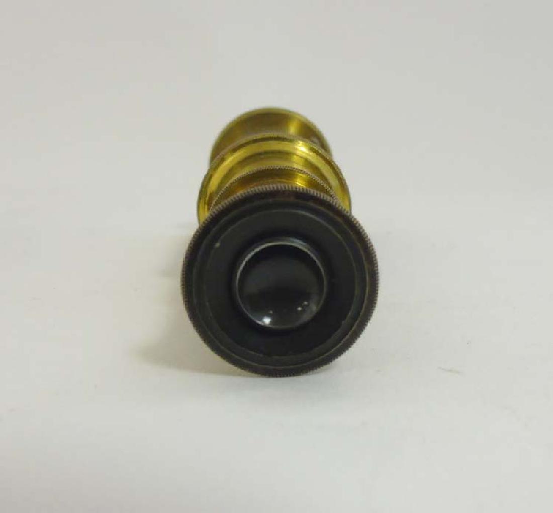 Field Microscope : an circa 1920 lacquered brass - 5