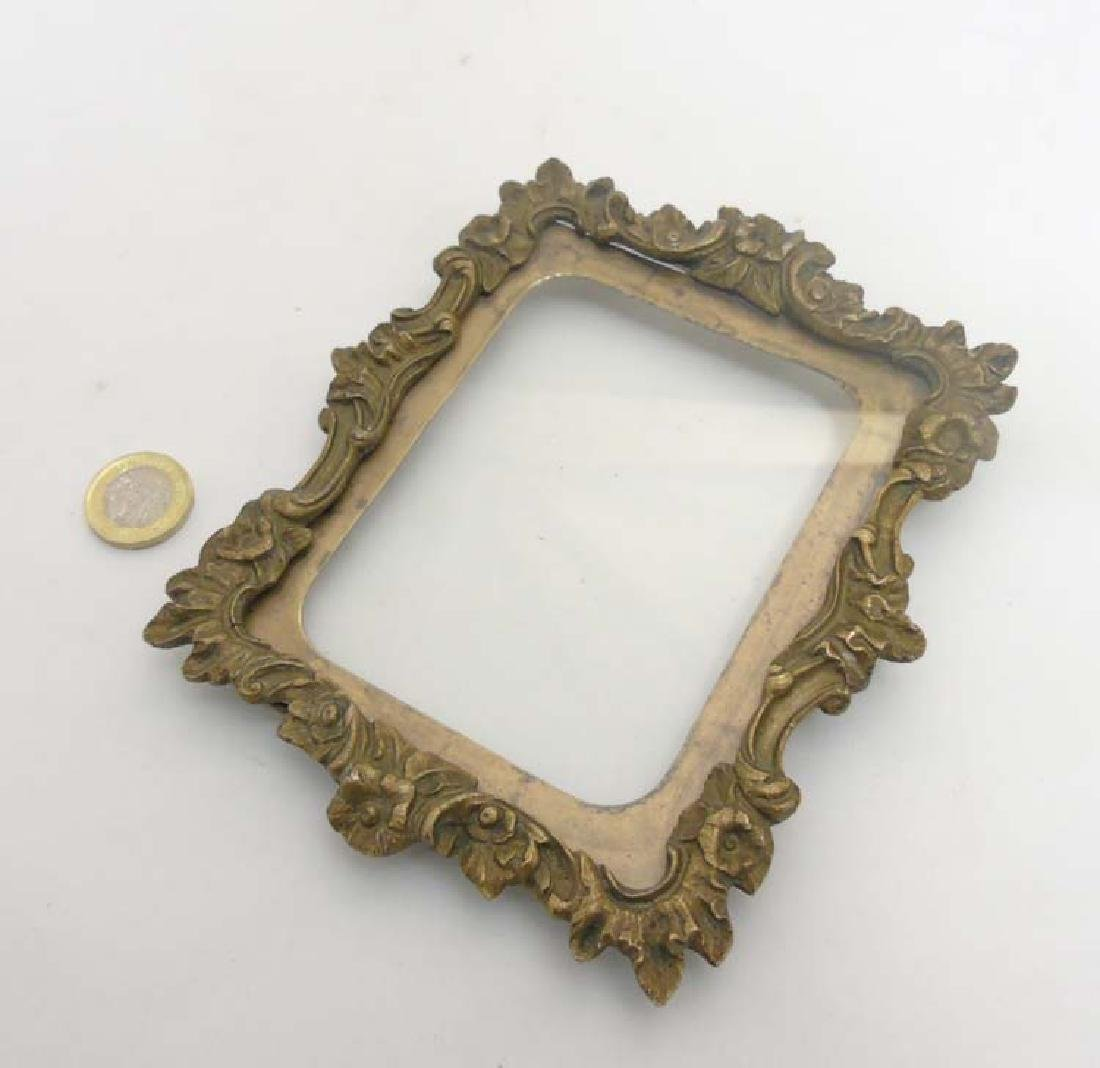 XVIII Baroque Gilt frame (hanging), Suitable for a
