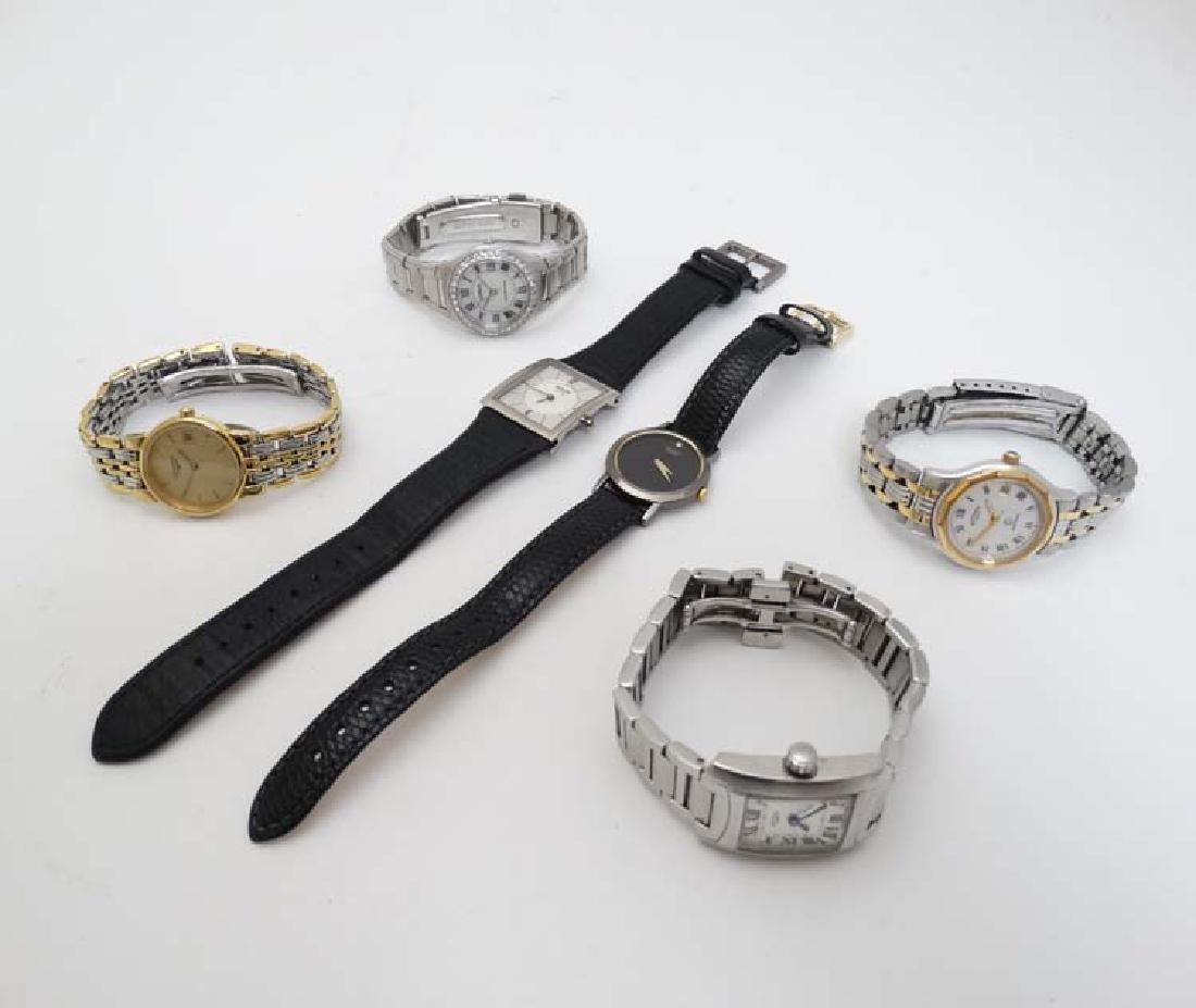Watches :  a Longines ladies bi-metal wristwatch with