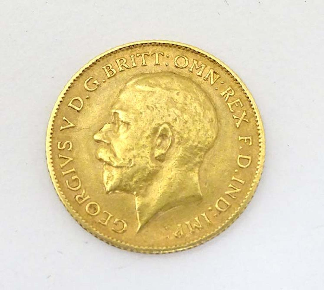 1/2 Sovereign : A George V,   1911 , 1/2 sovereign , 22