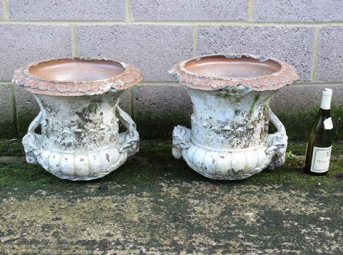 Architectural  , Garden Salvage :   A pair of Gibbs and