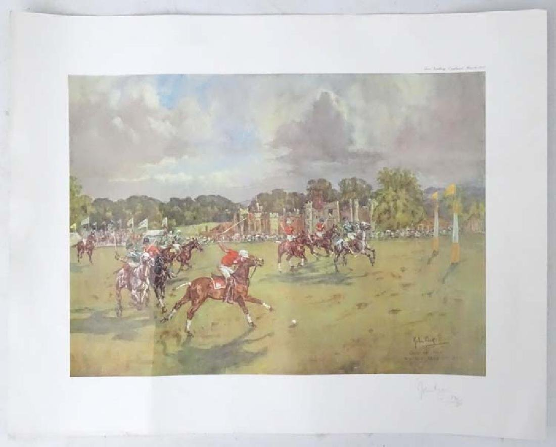 Polo: After John Gregory King (1929-2014), Signed