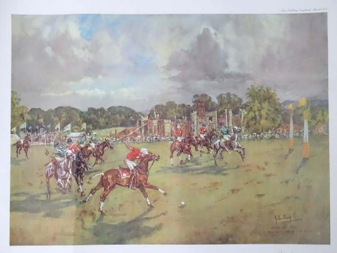 Polo: After John Gregory King (1929-2014), Signed - 3