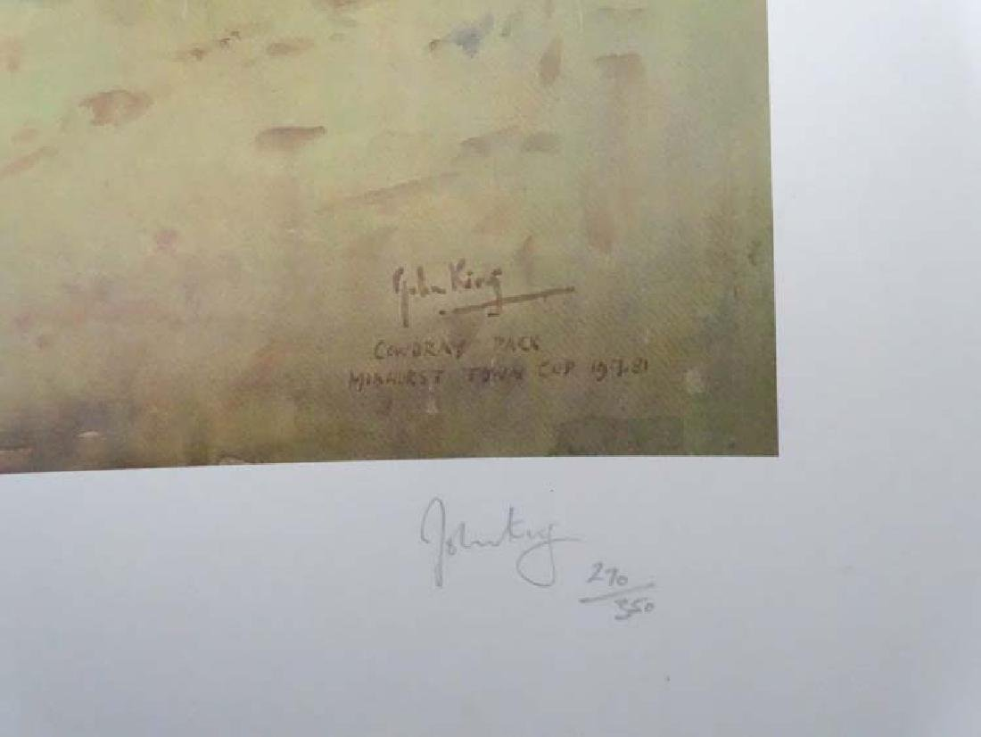 Polo: After John Gregory King (1929-2014), Signed - 4