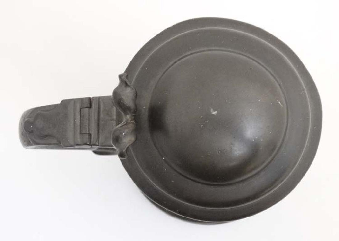 Billiards / Snooker: an 1862 pewter 'Tappit hen' - 2