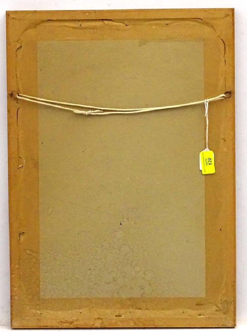 Dog: M Burgess '79, Scraperboard with colour, Portrait - 2