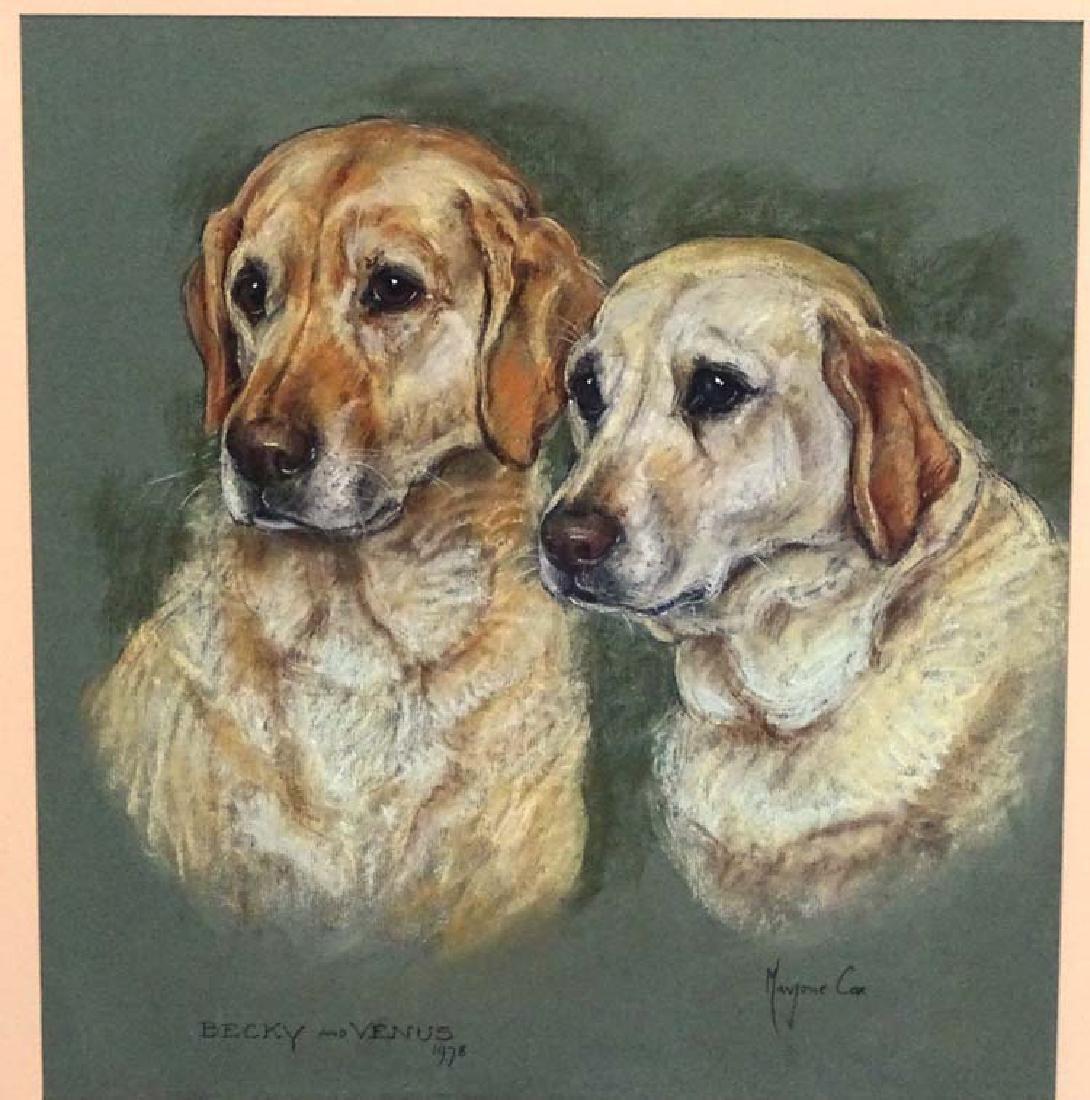 Gun Dogs: Marjorie Cox (1915-2003), Pastel and - 3