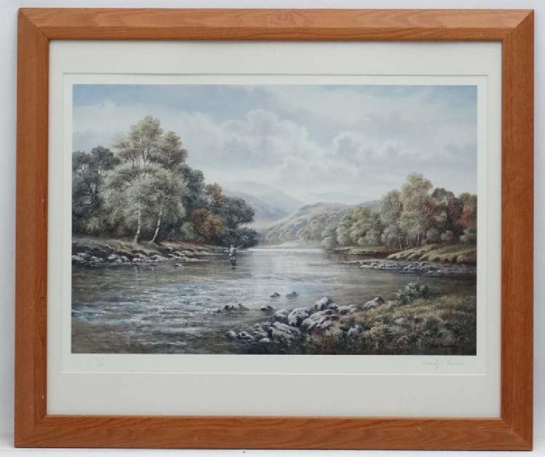 Fly-Fishing: Wendy  Reeves (1945), Signed limited