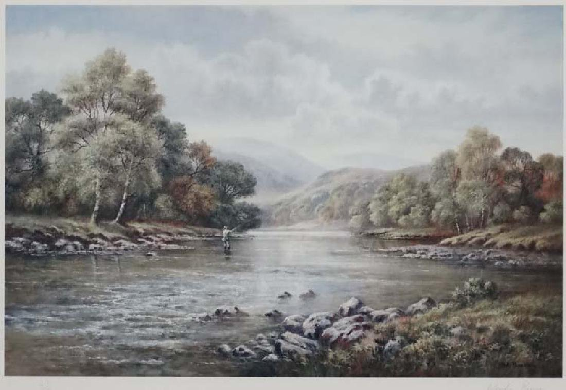 Fly-Fishing: Wendy  Reeves (1945), Signed limited - 3